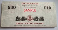 Great Central Railway Gift Voucher