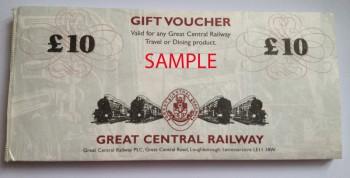 Great Central Railway Gift Voucher