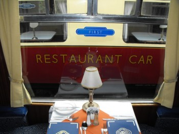Great Central Railway Restaurant Car