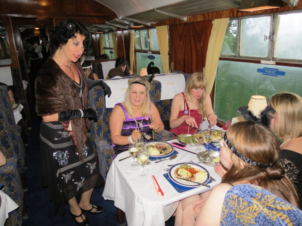 Great Central Railway Murder Mystery Dining Service