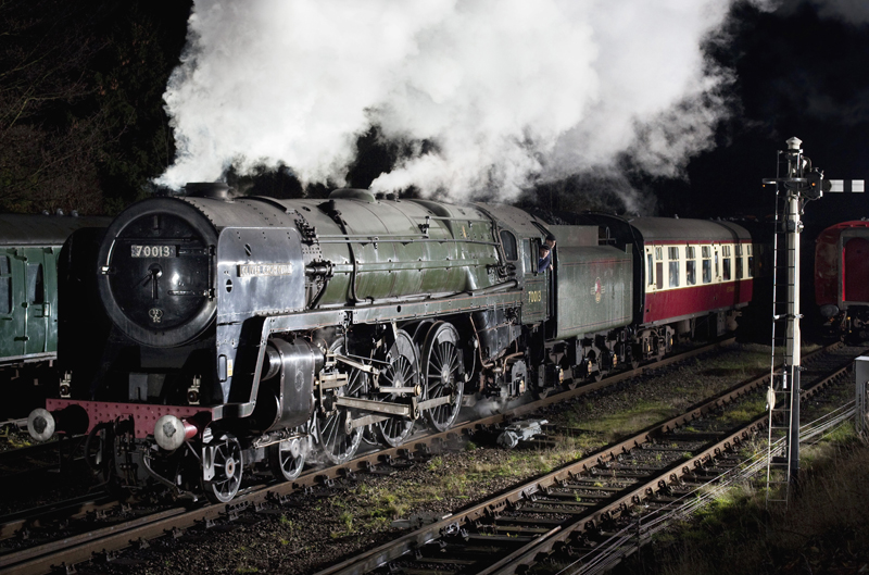 70013 – Oliver Cromwell | Great Central Railway – The UK's