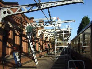 Phase 3a Canopy repainting - Tony Sparks