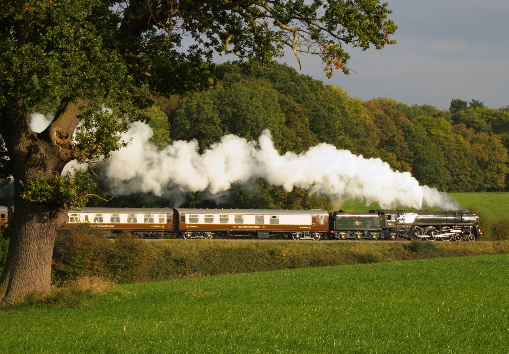 The 'Duke' and Cromwell Pullman 13-10-10