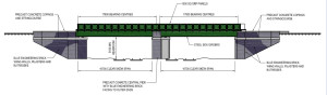 Bridge plan side view December 2013 (c) Network Rail
