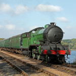246 'Morayshire' crosses Swithland Reservoir on 10.10.10 - Paul Biggs