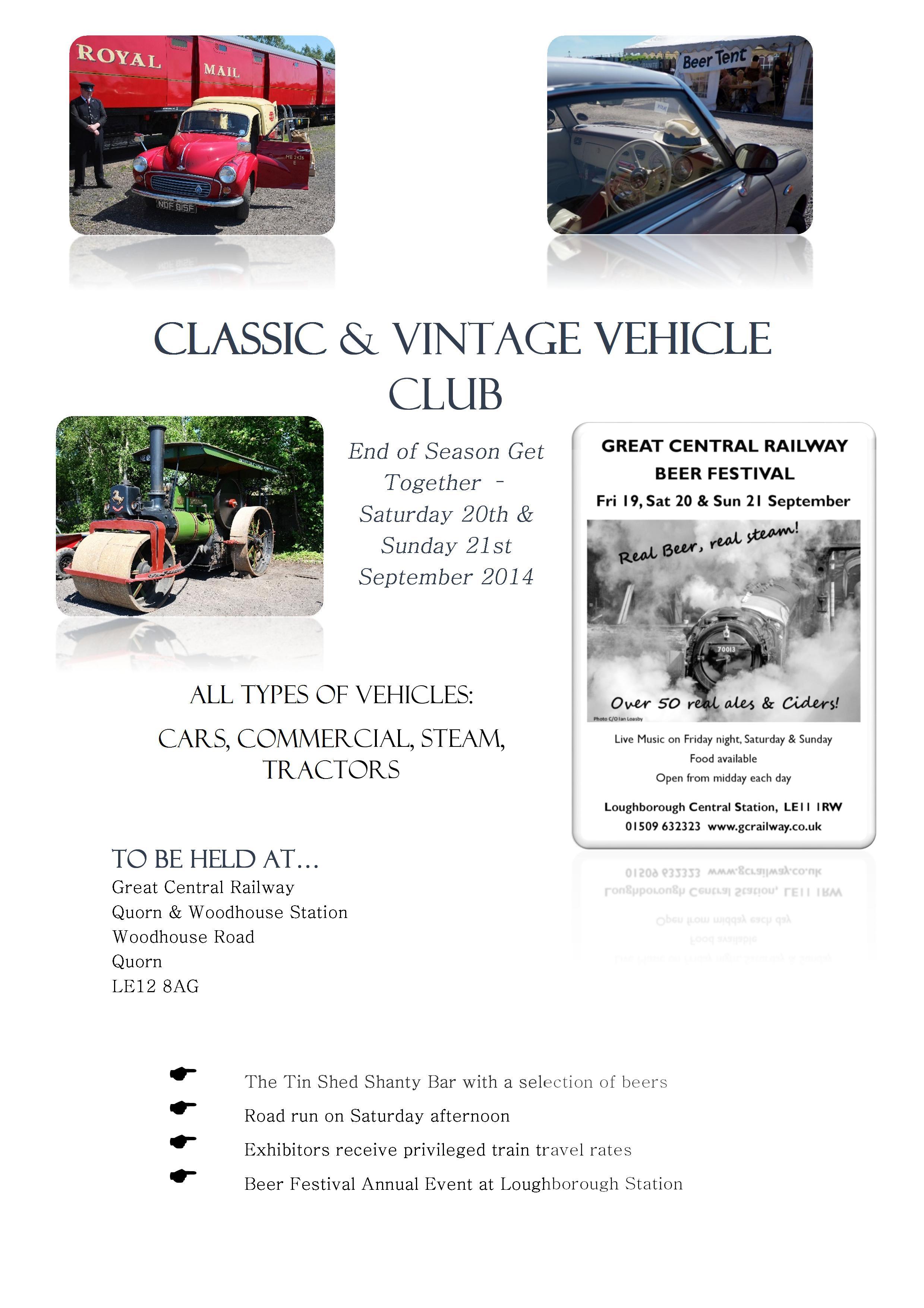 Classic Vintage Vehicle Weekend