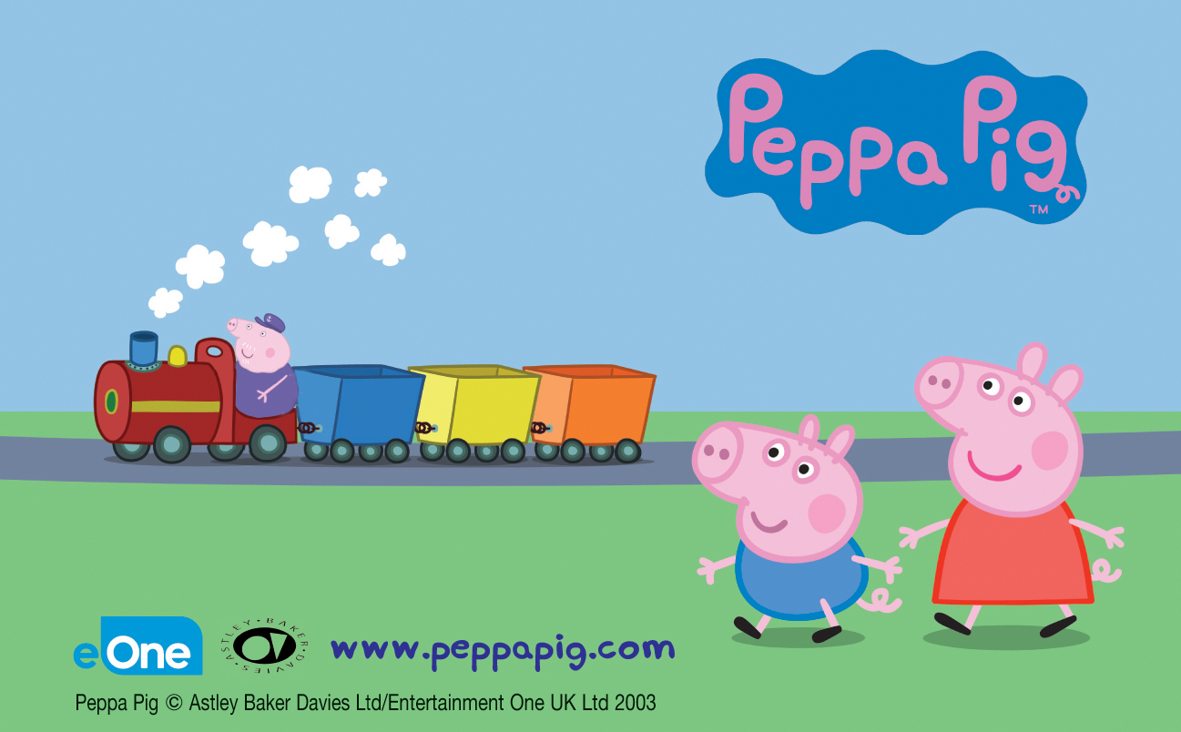 Peppa Pig George 5th 6th 7th May 2018 Great Central Railway