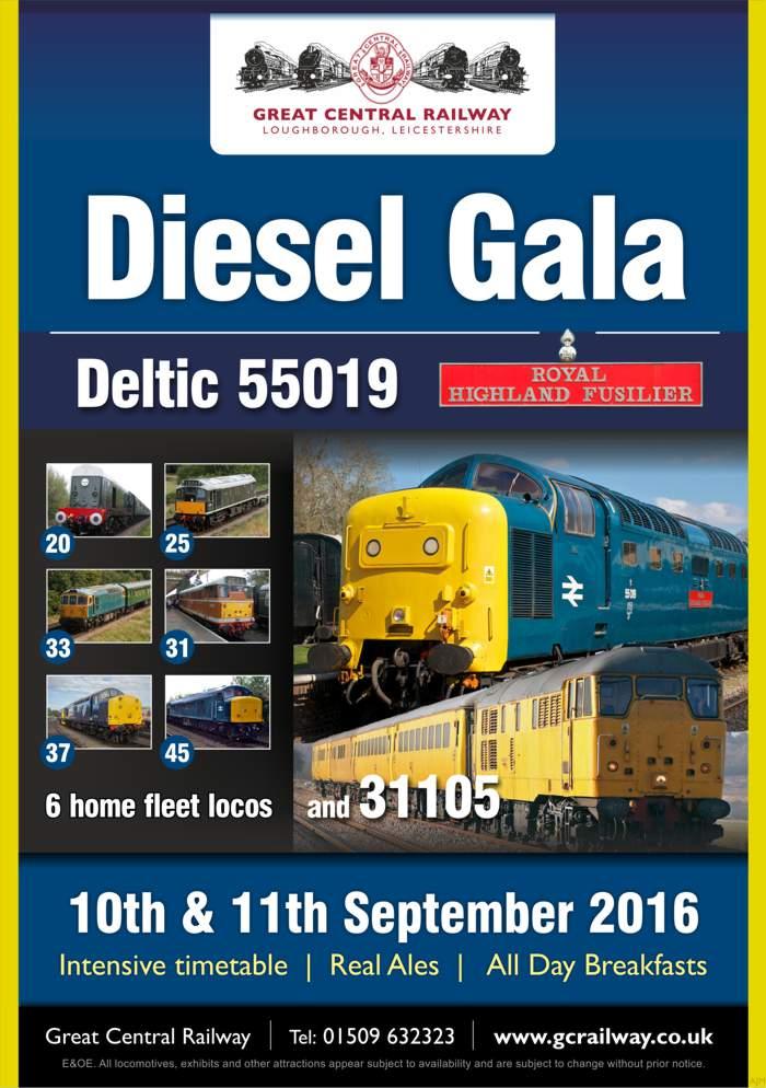 Diesel Gala September 2016 Diesel Gala - Poster V2