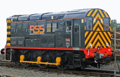An RSS Class 08 in similar livery to our special guest 08480.