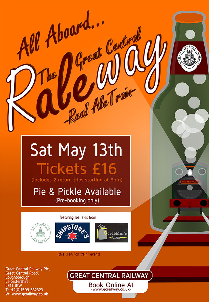 Real Ale Train May 2017