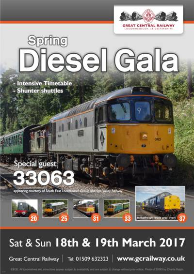 Spring 2017 Diesel Gala - Poster