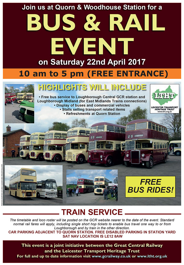 Bus Rally and Heritage Bus Running Day – Saturday 22nd April 2017