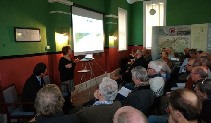 A museum project update and consultation meeting for volunteers and the public.