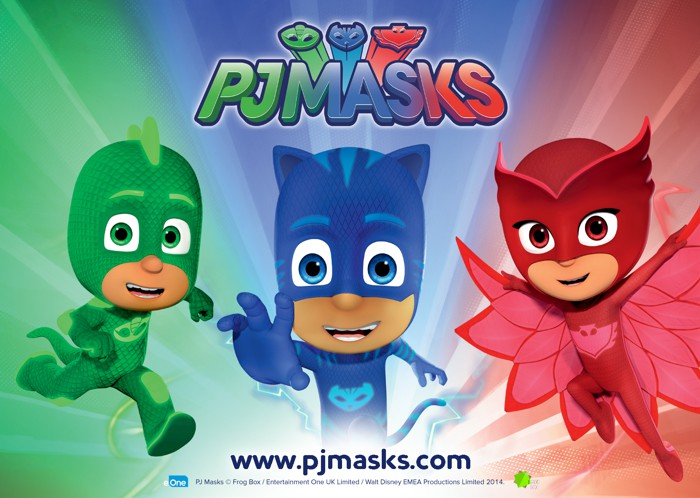 catboy owlette from pj masks sun 26th and mon 27th august 2018
