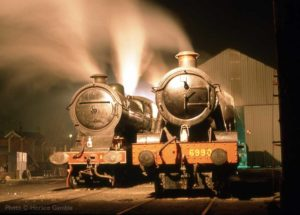 """Two fine locomotives with a long GCR history await their next duty."" - Photo © Horace Gamble"