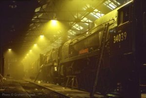 """35005 and 34039 - Beautiful Bulleid Pacifics."" - Photo © Graham Wignall."