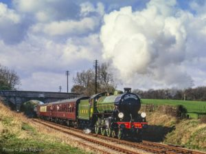 """B1 1264 gleaming in Apple Green in times past."" - Photo © John Bagshaw."