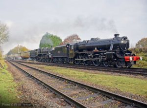 """Successive generations of Class 5 arriving on time."" Photo © Peter Salmon."