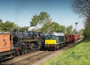 """In the early 1960s, a Type 2 diesel was a sign of things to come... Over 50 years later, both steam and diesel locomotives from the time are preserved and still going strong."" - Photo © John Smith."