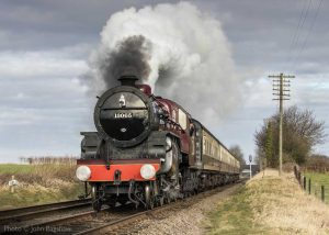 """""""A shovel of coal is added to the fire to help complete the climb as the gradient eases."""" - Photo © John Bagshaw."""