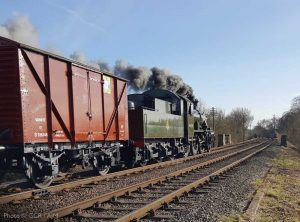 """Moving the nation's freight by the power of steam... A sight of yesteryear recreated."" - Photo © Great Central Railway / AJM."