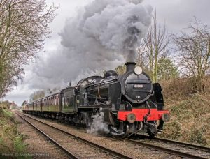 """The day begins with a determined departure for the south in the hands of a U Class 2-6-0."" - Photo © Stephen Bottrill."