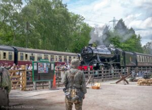 This weekend 5th to 7th June 2020 should have been our 1940s Wartime Weekend. We're very much looking forward to staging this event again in the future. - Photo © Scott Mattock.