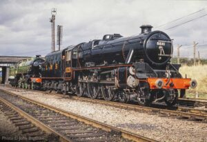 """""""Stanier's Class 5 for the LMS and Thompson's B1 for the LNER were built in large numbers from 1934 and 1942 respectively, and saw service until the latter days of steam on British Railways."""" - Photo © John Bagshaw."""