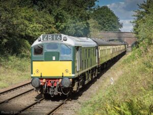 """""""Between 1961 and 1967, this class of Sulzer Type 2 (later known as Class 25) locomotives were built, as steam locos were replaced throughout the British Railways network. Themselves now over 50 years old, many members of the class now operate on heritage railways."""" - Photo © John Smith."""