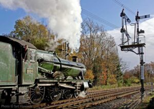 """A bright afternoon at Swithland Sidings sees Modified Hall 6990 'Witherslack Hall' at work on the Up Main."" - Photo © Syd Hancock."
