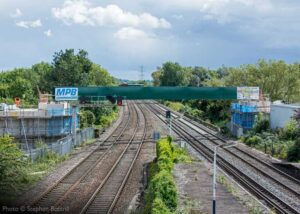 """""""Our new bridge over the Midland Main Line at Loughborough was the first major milestone in our ongoing project to reunite the two halves of the Great Central Railway."""" - Photo © Stephen Bottrill."""