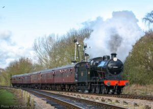 """""""On this day in 2017, visiting Southern Railway Q Class 30541 is pictured approaching Swithland Sidings during our Winter Steam Gala."""" - Photo © Joe Connell."""