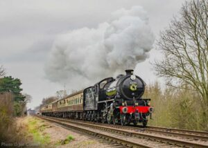 """""""Our 2020 Winter Steam Gala continued a long line of superb guest locomotives to visit the GCR, with special guest K1 62005 starring one year ago this weekend."""" - Photo © Joe Connell."""